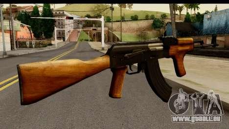 Modified AK47 pour GTA San Andreas deuxième écran