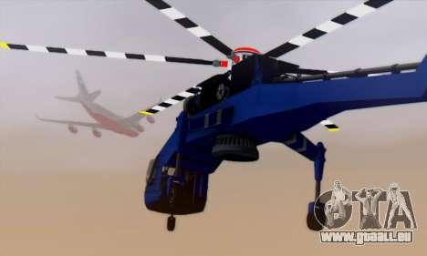 Skylift from GTA IV TBOGT pour GTA San Andreas vue de côté