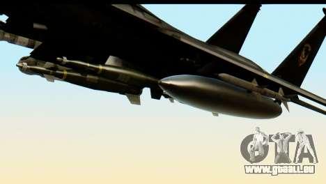 F-15 Razgriz für GTA San Andreas rechten Ansicht
