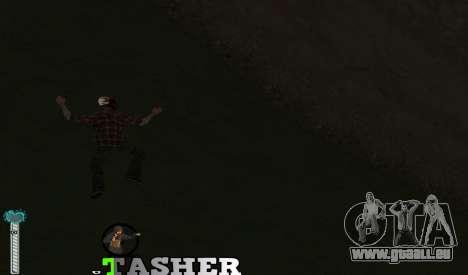 C-HUD Tasher für GTA San Andreas dritten Screenshot