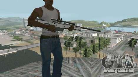 Metall AWP L96A1 für GTA San Andreas zweiten Screenshot