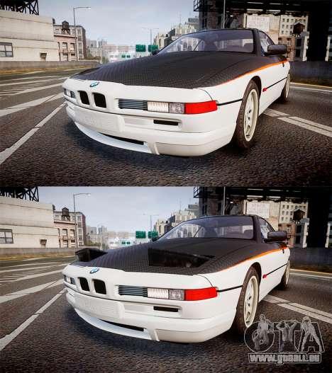 BMW E31 850CSi 1995 [EPM] Carbon pour GTA 4 est un côté
