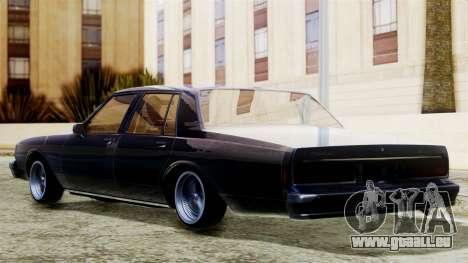 Chevrolet Caprice für GTA San Andreas linke Ansicht