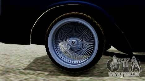 Chevrolet Caprice für GTA San Andreas zurück linke Ansicht