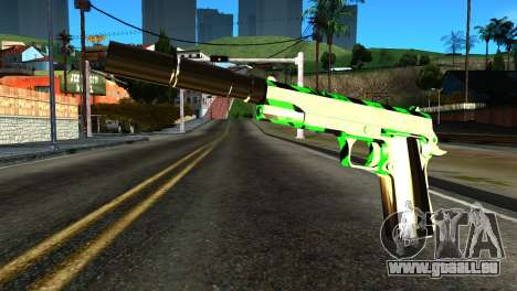 New Silenced Pistol pour GTA San Andreas