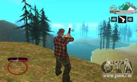 C-HUD LCN pour GTA San Andreas deuxième écran