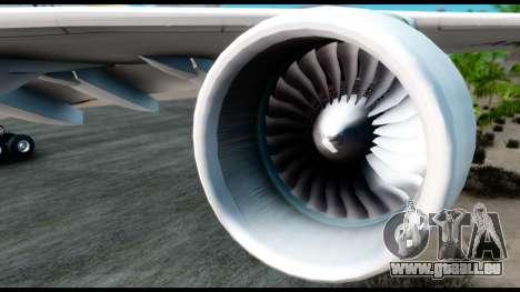 Airbus A380-800 Etihad New Livery für GTA San Andreas rechten Ansicht