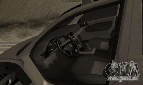Skoda Octavia Winter Mode für GTA San Andreas Motor