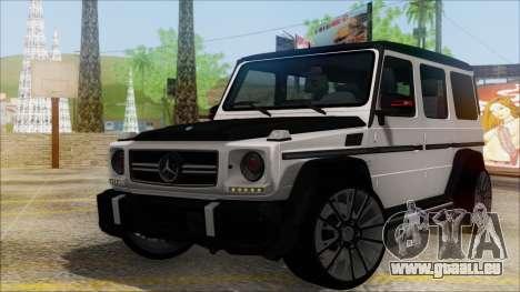Mersedes-Benz G500 Brabus pour GTA San Andreas