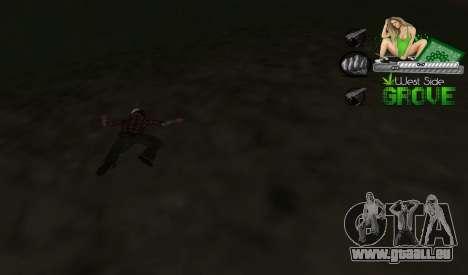 C-HUD Groove St. Family für GTA San Andreas dritten Screenshot