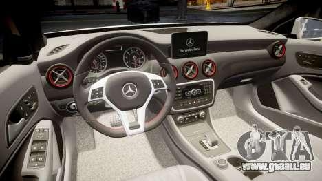 Mersedes-Benz A45 AMG PJs4 pour GTA 4 est un côté