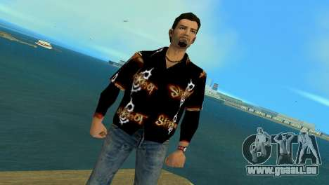 Slipknot 666 Shirt pour GTA Vice City