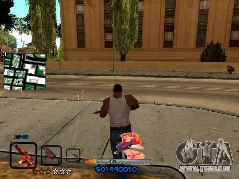 C-HUD by HudMud pour GTA San Andreas troisième écran