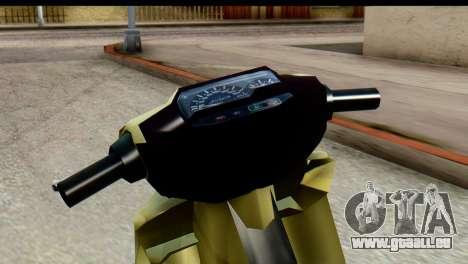 Yamaha F1ZR Stock für GTA San Andreas rechten Ansicht