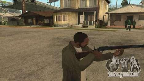 Winchester de Killing Floor pour GTA San Andreas deuxième écran
