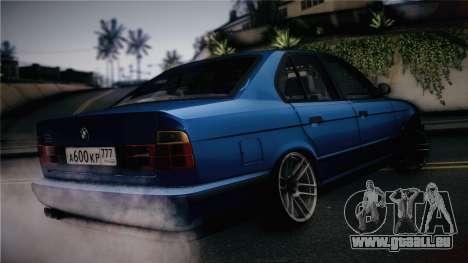 BMW M5 E34 Stance für GTA San Andreas linke Ansicht