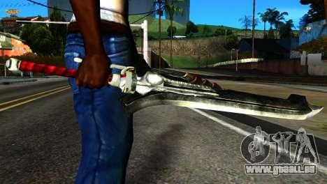 New Katana pour GTA San Andreas troisième écran