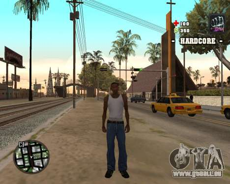 C-HUD Hardcore pour GTA San Andreas