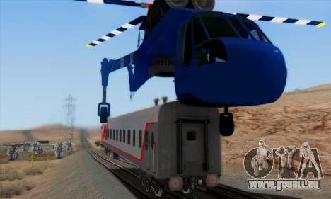 Skylift from GTA IV TBOGT pour GTA San Andreas vue de dessous