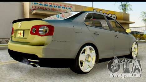 Volkswagen Bora GLI 2010 Tuned pour GTA San Andreas laissé vue