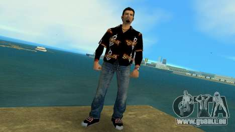 Slipknot 666 Shirt für GTA Vice City zweiten Screenshot