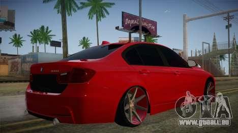 BMW 335i für GTA San Andreas linke Ansicht