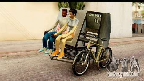 Pedicab Philippines pour GTA San Andreas