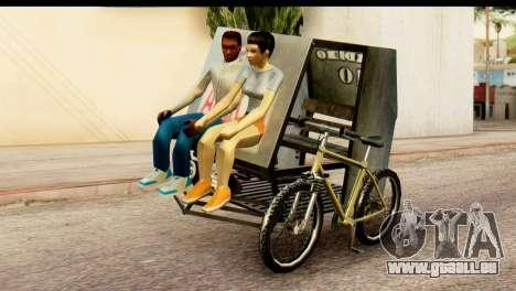 Pedicab Philippines pour GTA San Andreas