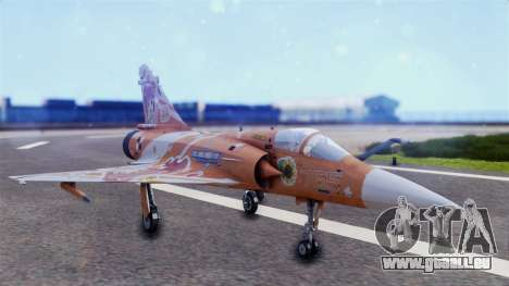 Dassault Mirage 2000-5 The Idol Master 2 pour GTA San Andreas