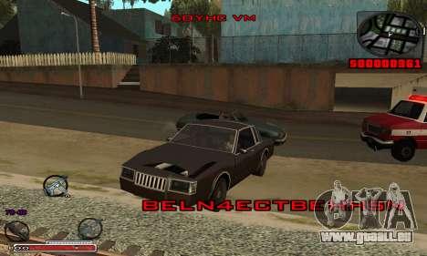 Schöne C-HUD für GTA San Andreas zweiten Screenshot