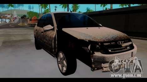 Lada Granta für GTA San Andreas rechten Ansicht