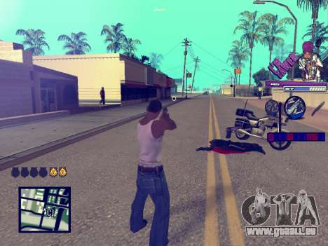 C-HUD TAWER für GTA San Andreas her Screenshot