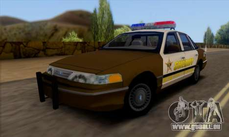 Ford Crown Victoria 1994 Sheriff pour GTA San Andreas