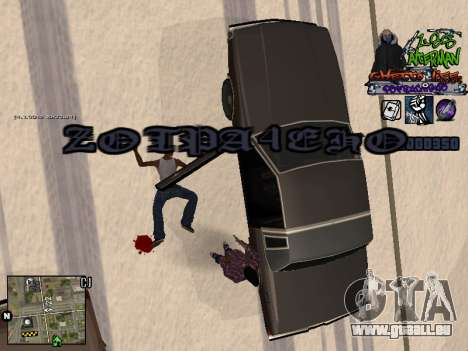 C-HUD Les Alterman für GTA San Andreas fünften Screenshot