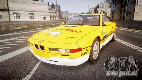 BMW E31 850CSi 1995 [EPM] E-Post Brief pour GTA 4