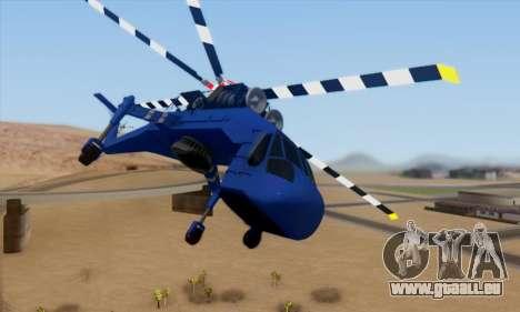 Skylift from GTA IV TBOGT pour GTA San Andreas laissé vue