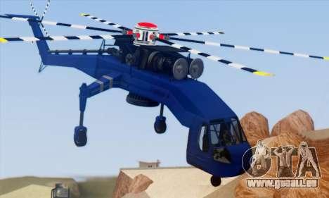 Skylift from GTA IV TBOGT pour GTA San Andreas vue de droite