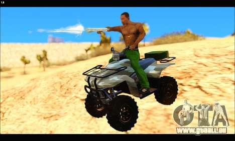 ATV Army Edition v.3 für GTA San Andreas
