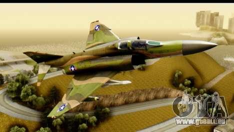 F-4 Vietnam War Camo für GTA San Andreas linke Ansicht