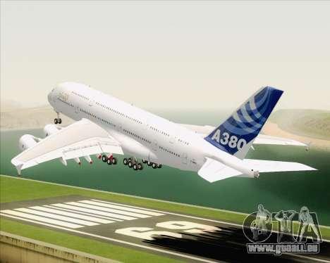 Airbus A380-800 F-WWDD Etihad Titles pour GTA San Andreas salon