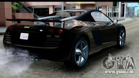 GTA 5 Obey 9F Cabrio SA Mobile für GTA San Andreas linke Ansicht