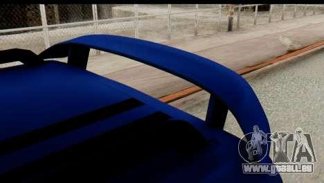 Ford Transit Tourneo Connect Camli Van pour GTA San Andreas vue de droite