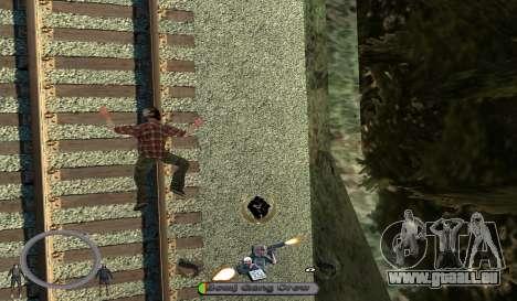 C-HUD BomjGang für GTA San Andreas dritten Screenshot