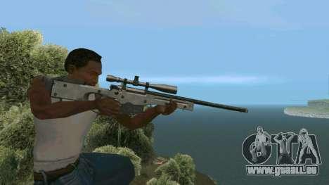 Metall AWP L96A1 für GTA San Andreas her Screenshot