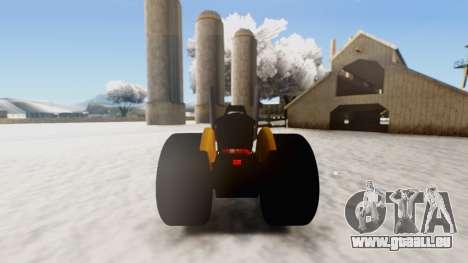 Tractor Kor4 v2 pour GTA San Andreas vue de droite