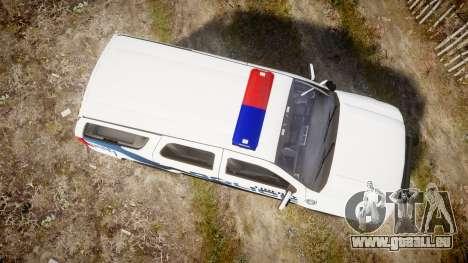 Chevrolet Tahoe 2010 LCPD [ELS] für GTA 4 rechte Ansicht