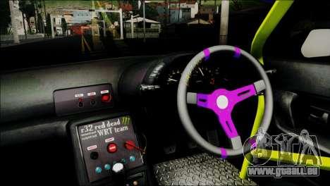 Nissan Skyline GT-S R32 für GTA San Andreas Rückansicht