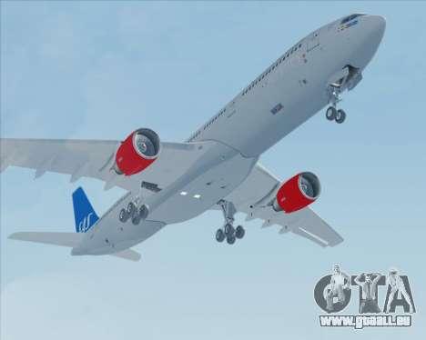 Airbus A330-300 Scandinavian Airlines pour GTA San Andreas vue de côté