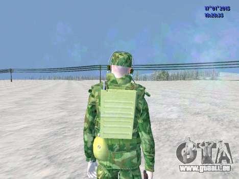 Die airborne Funker für GTA San Andreas dritten Screenshot