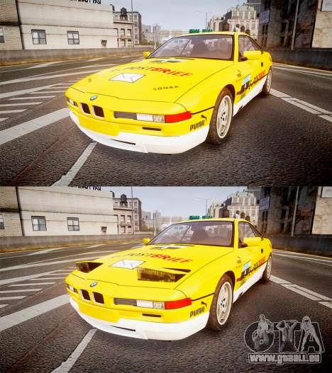 BMW E31 850CSi 1995 [EPM] E-Post Brief pour GTA 4 est un côté